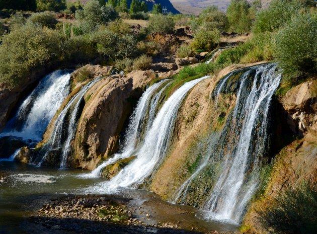Watervallen.