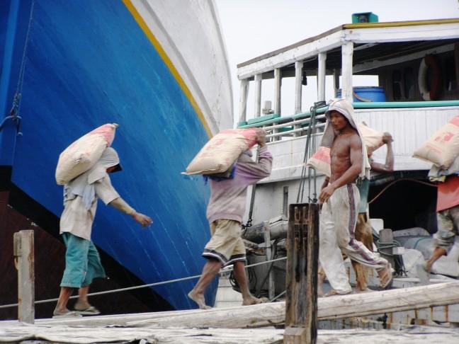 havenarbeiders Jakarta