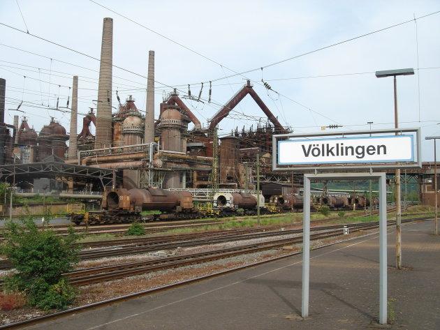 Unescomonument in Völklingen