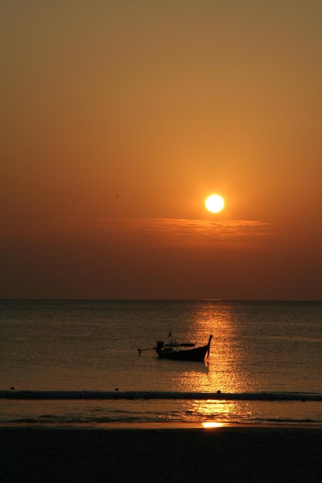 Zonsondergang Koh Mook - Thailand