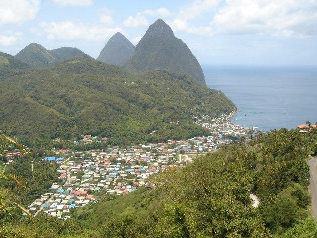 Saint-Lucia, een tropische verrassing.