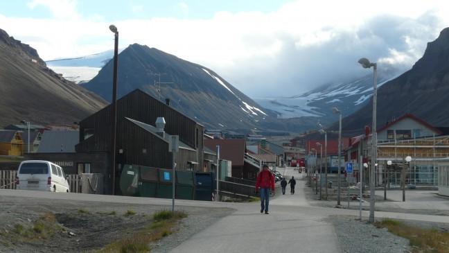 Ga op Spitsbergen eerst naar Longyearbyen