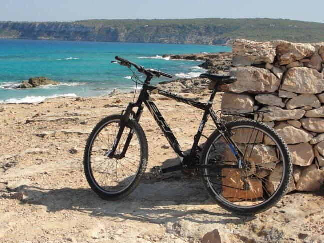 Formentera  fietseiland.