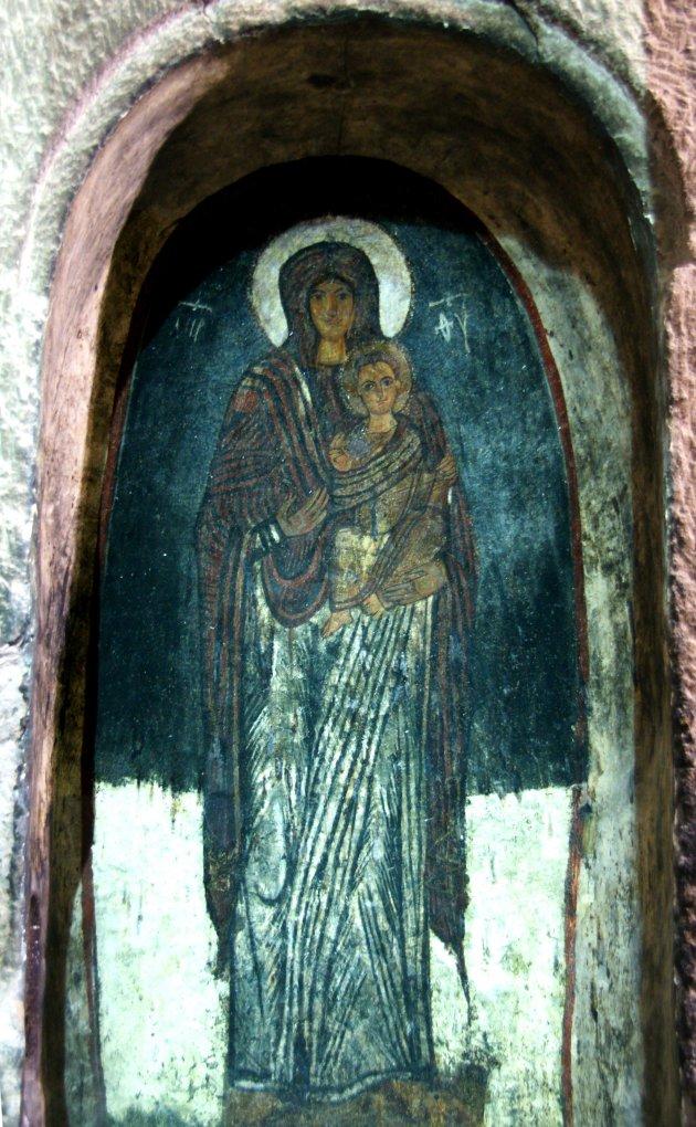 Fantastisch fresco in Eski Gumus