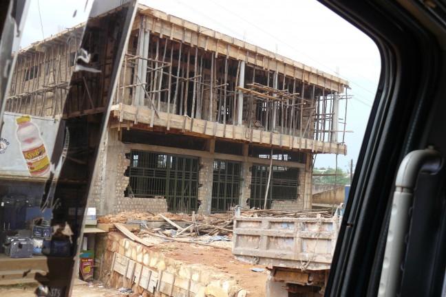 bouw locatie