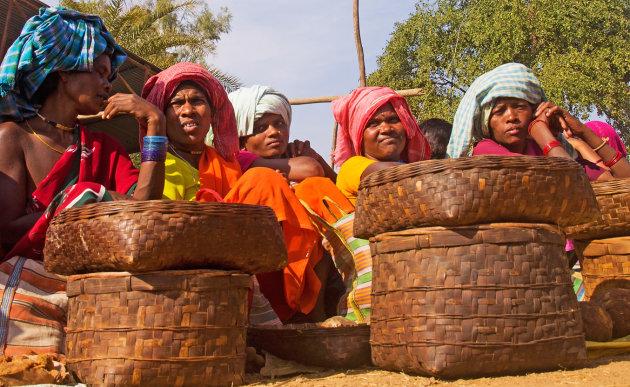 Markten in Oost India