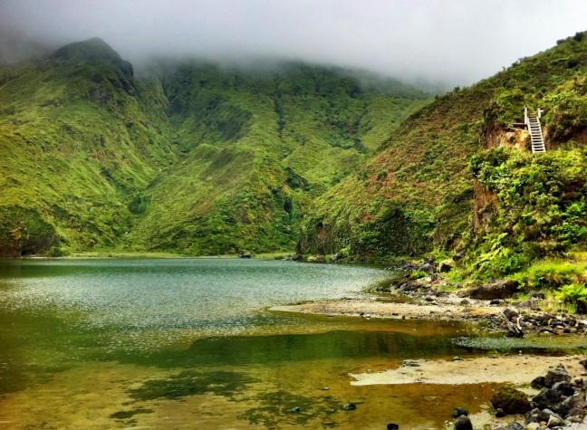 Een groen eiland