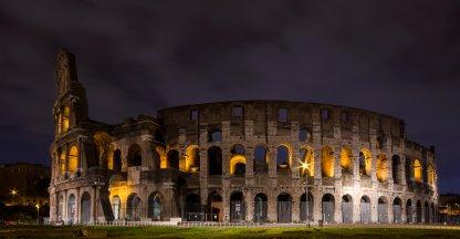 Colosseum in het donker