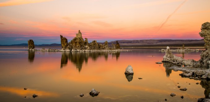 Sunset @ Mono Lake