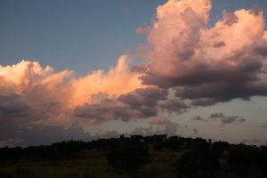 Kleurrijke wolken