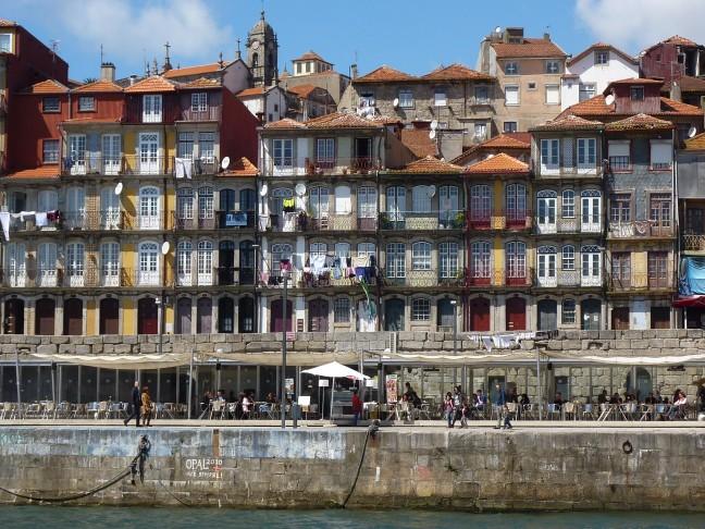 Porto vanaf het water
