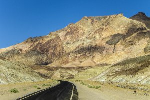 Death valley en de Artist Drive