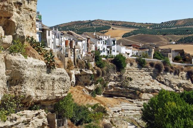 Moren, bronnen en kloven in Al Hama de Granada