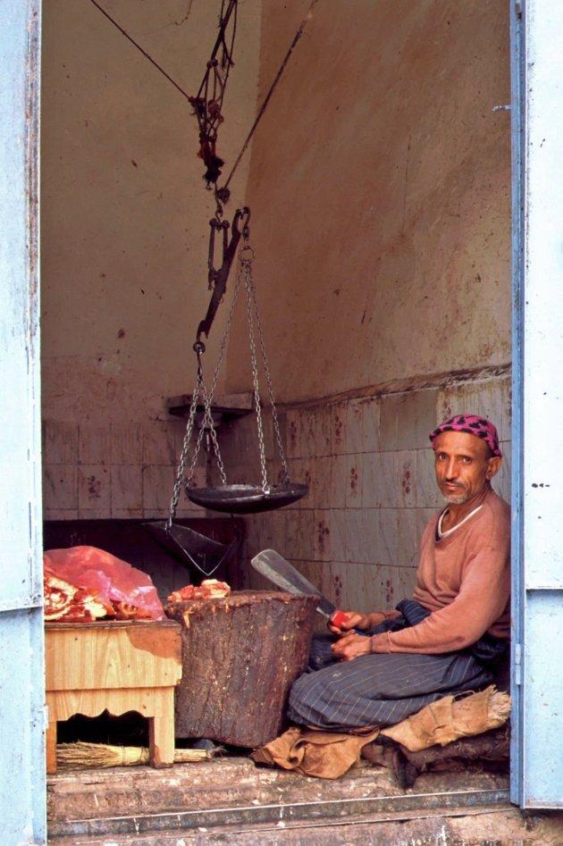 Slager in Sanaa