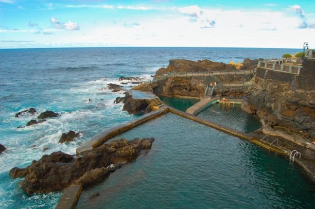 Natuurlijk zwembad  La Fajana .