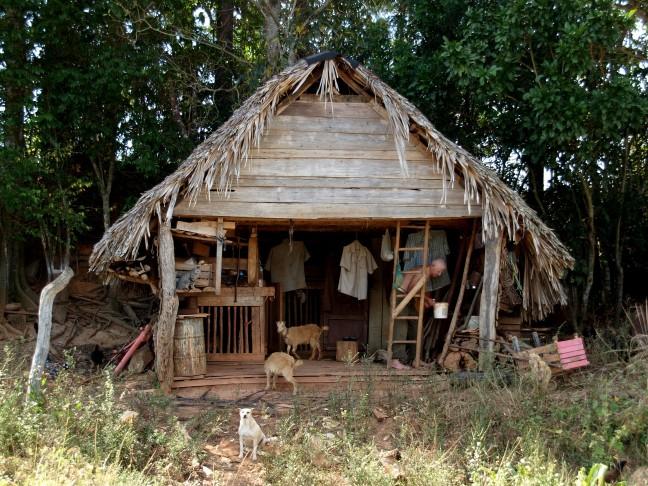 huishouden van Cubaanse Boer.
