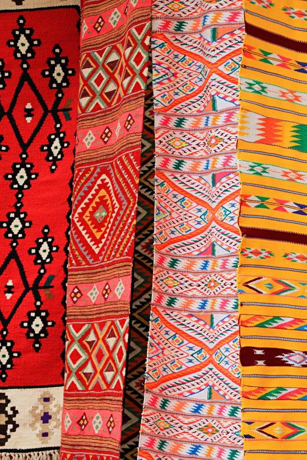 kleurrijke kleden