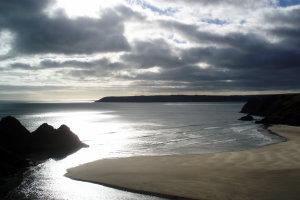 British Coast 2 - Three Cliffs Bay