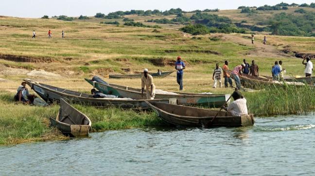Ga varen op het Kazinga kanaal