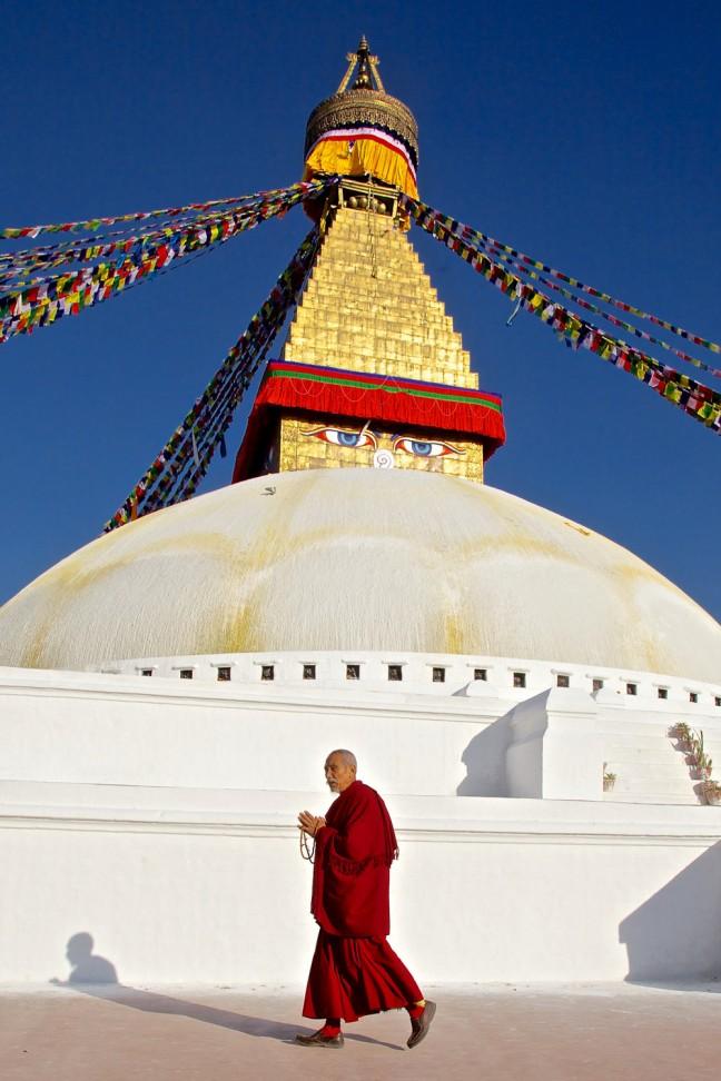 De monnik en de stupa