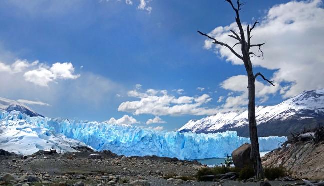 Ochtendlicht op Perito Moreno
