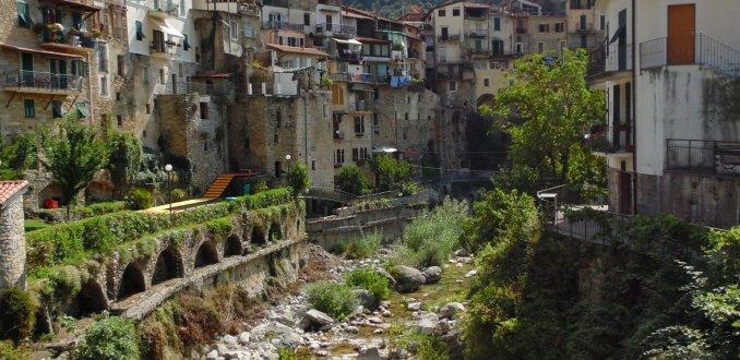 Prachtig dorp in Italië