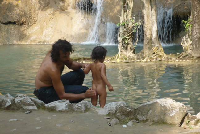 De waterfall Sai Yok