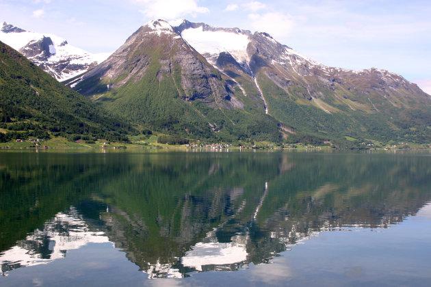 spiegeling berg