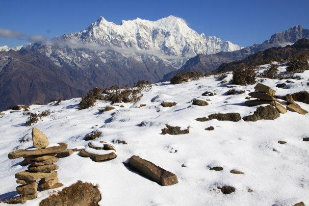 Schitterende vergezichten op de Himalaya