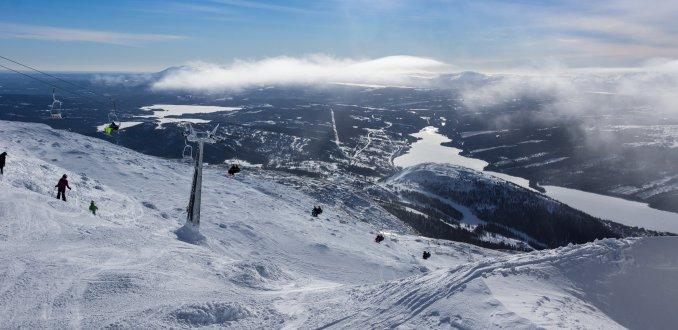 Winters uitzicht