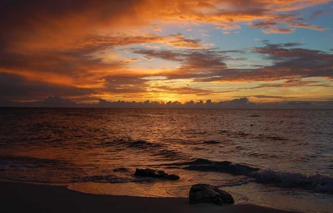 Sunset at Playa Pesquero