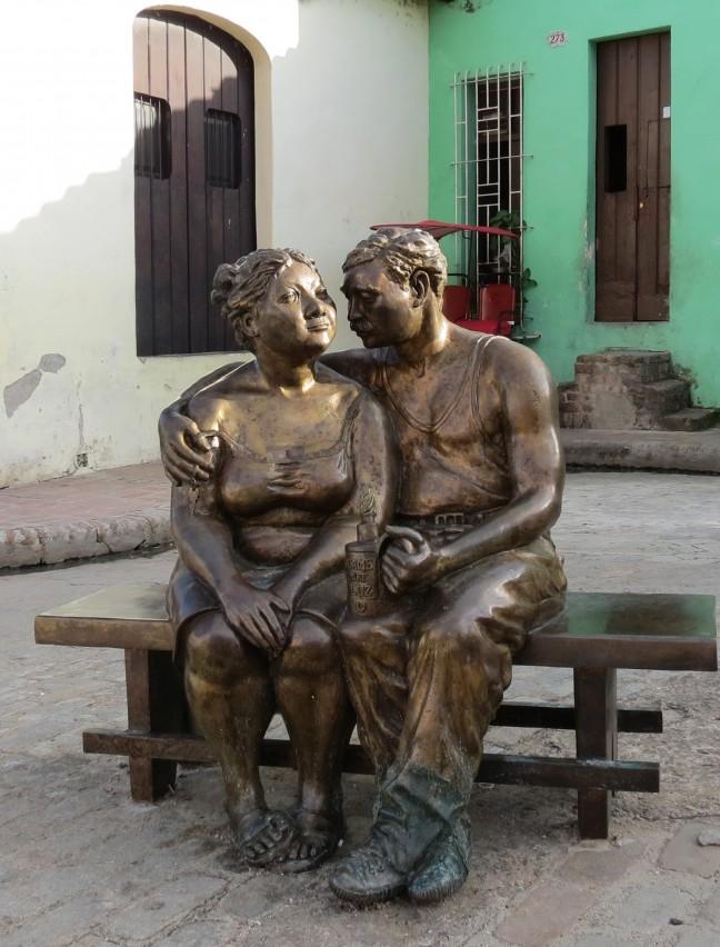 Op de Plaza del Carmen