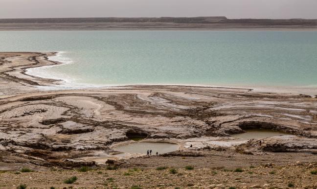 Geen saaie Dode Zee
