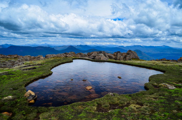 Mt. Ossa beklimmen