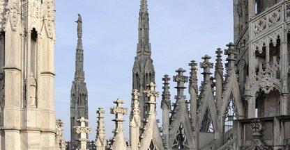Op het dak van de Dom