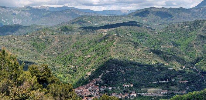 het Ligurische bergland