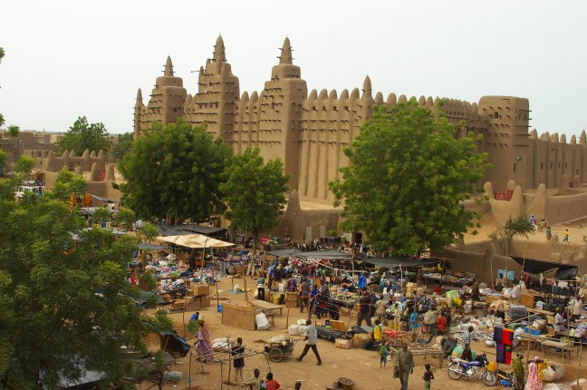 Grote moskee van Djenne