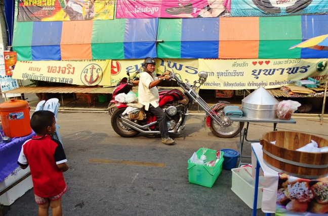 Oude Thaise Biker