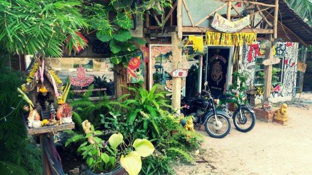 Thaise hippie sferen