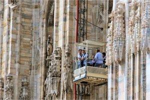 restauratie van Duomo