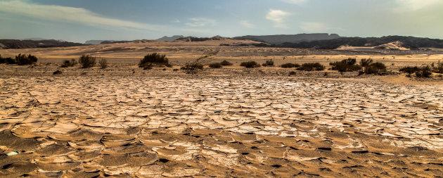De droge Woestijn