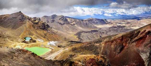 Panorama vanaf Red Crater