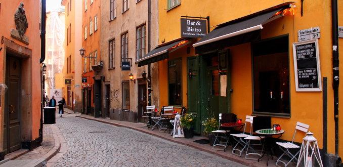 De Kleurrijke Straten van Stockholm