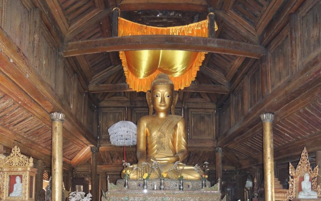 Boeddha in Nyaung Shwe