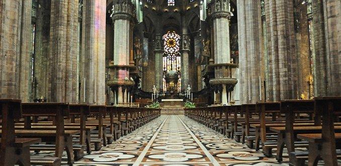 Interieur van de Duomo