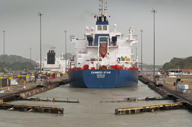varen door het Panama kanaal