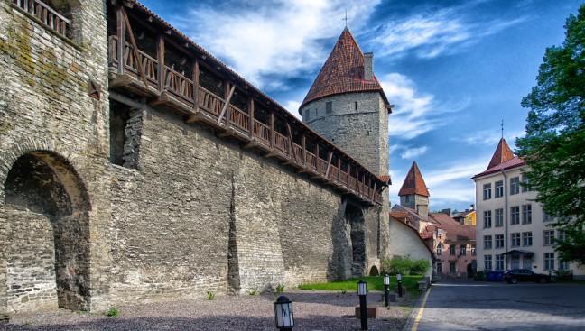 Stadsmuur Tallinn