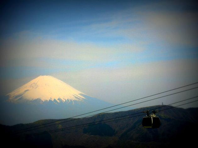 Uitzicht op Mount Fuji