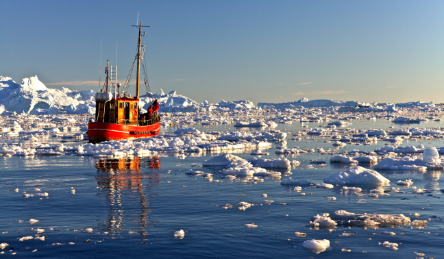 Middernacht in Ilulissat