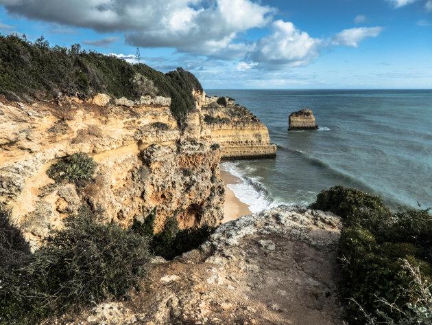 Zicht op Praia da Marinha